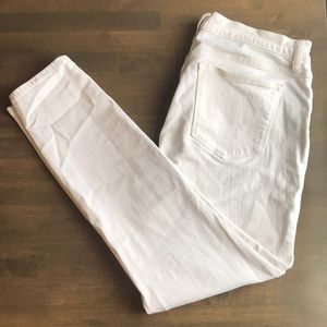 J. Crew White Denim Pant